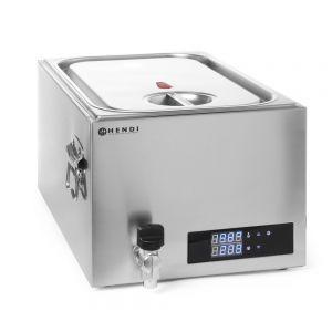 Aparat de gatit Sous-Vide GN 1/1, 600 W, Termostat, Argintiu