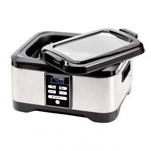 Aparat pentru gatit Sous-Vide CookMania, 450 W, 5.7L, Gradatie temperatura 1°C, Argintiu, Hendi