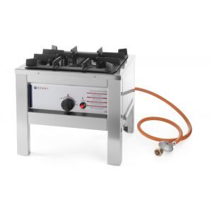 Aragaz Big Flame - otel inoxidabil - 6.7 Kw - aprindere electronica - 425x425x(H)400 mm