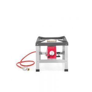 Arzator tip soba pe gaz Revolution, 6 kW, 400x400x (H) 390 mm, Inox