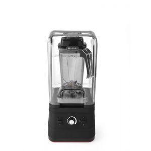 Blender profesional, capac protectie fonica, digital, cana policarbonat 2.5 lt, viteza max 24800 rpm, 252x258x(H)547 mm