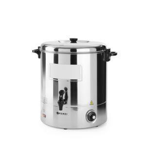 Boiler pentru bauturi calde, 2200 W, 30 L, Temperatura pana la 110°C, Potrivit pentru vin fiert, Argintiu