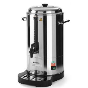 Boiler pentru bauturi calde cu pereti dubli, 1500 W, 15 L, Robinet anti-picurare, Indicator decalcifiere, Argintiu