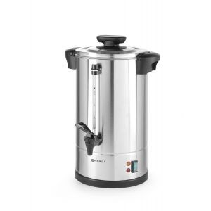 """Boiler pentru bauturi calde cu pereti dubli, 2250 W, 20 L, Temp 30 - 100˚C , Argintiu, sistem inchidere """"Twist-lock"""", Inox, 360x380x(H)598 mm"""