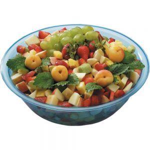 Bol pentru salata, plastic transparent, 320x(H)100 mm, 4 lt