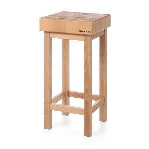 Butuc din lemn pe suport din lemn 400x400x(H)110 mm