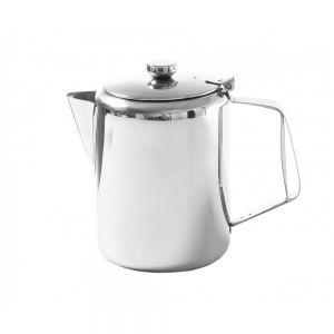 Cafetiera/ceainic cu capac, otel inoxidabil, 0.6 L, Ø9,7x14,2 cm