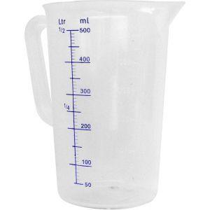 Cana gradata polipropilena 2 Litri, dimensiuni 140x215 mm, rezistenta pana la 110 gr C