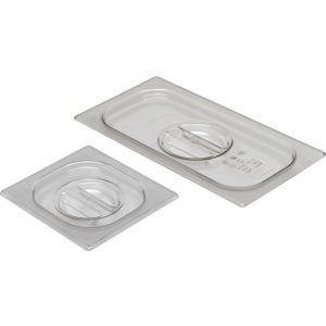 Capac Gastronorm GN 1/6 - policarbonat transparent, Hendi