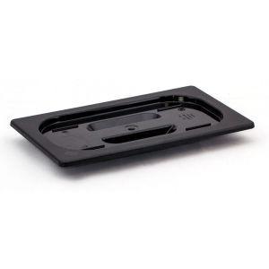 Capac tava Gastronorm GN 1/2 - 325x265 mm- policarbonat negru -