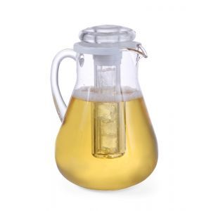 Carafa suc cu element racire, 3 Lt, plastic transparent rezistent,