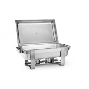 Chafing dish Gastronorm GN1/1, inox, 9 litri, 59x34x(H)35.5 cm, Model RentaL