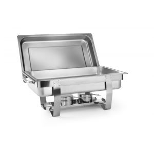 Chafing Dish Gastronorm GN1/2, 4,5 lt, inox, 385x295x310 mm,