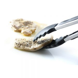 Cleste servire, otel inoxidabil/silicon, 40 cm