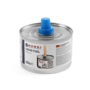 Combustibil lichid cu fitil - 6 in tava - 145 gr