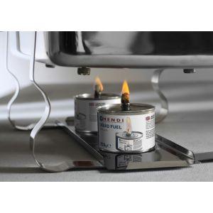 Combustibil lichid cu fitil pentru chafing dish - set 6 cutii de 200 gr - timp ardere 6 ore,