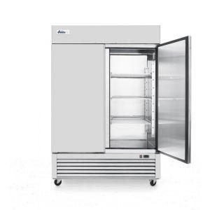 Congelator profesional ARKTIC by Kitchen Line cu 2 usi 1300 L 1262x640x(H)1525 otel inoxidabil -18/-12°C 6 rafturi potrivite pentru GN 2/1