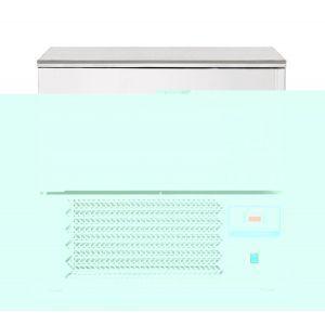 Congelator profesional cu 1 usi 10 GN 1/1 sau 10 tavi 600x400 mm otel inoxidabil +3 /- 18°C 1490 W 750x740x(H)1290 mm