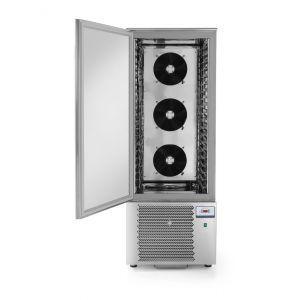 Congelator profesional cu 1 usi 20x GN 1/1 sau 20x tavi 600x400 mm 2040 W 750x740x(H)2080 otel inoxidabil +3 /- 18°C