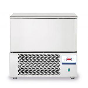 Congelator profesional cu 1 usi 5 GN 1/1 sau 5 tavi 600x400 mm otel inoxidabil +3 /- 18°C 1420 W 750x740x(H)880 mm