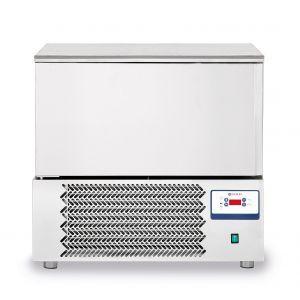 Congelator profesional cu 1 usi 7 GN 1/1 sau 7 tavi 600x400 mm otel inoxidabil +3 /- 18°C 1490 W 750x740x(H)1290 mm