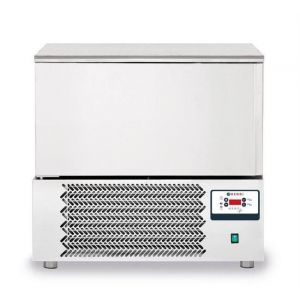 Congelator profesional Nano cu 1 usi 5x GN 1/1 sau 5x 600x400 mm otel inoxidabil +3 /- 18°C 1420 W 750x740x(H)850/880 mm