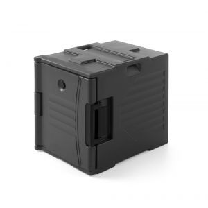 Container termic pentru catering, pt tavi GN1/1, polietilena, 69x49x(H)64 cm