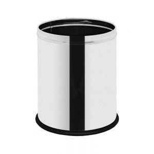 Cos de gunoi cu sant special pentru sacul de gunoi Inox finisaj lucios 7 L ø200x(H)250 mm, Hendi