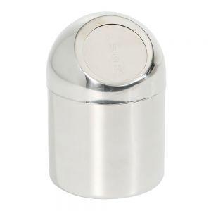 Cos pentru gunoi realizat din otel inoxidabil cu capac 120x(H)180 mm, Hendi