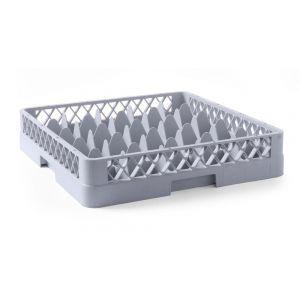 Cos universal pentru masina de spalat vase, 36 compartimente, 500x500x(H)104 mm