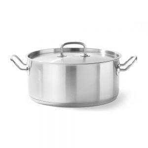 Cratita cu capac, 200x(H)95 mm 3,00 lt, inox, gama Hendi Kitchen Line