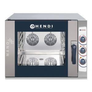 Cuptor combi HENDI NANO, electric, control manual, 5 tavi x GN 1/1, putere 13,8 kW