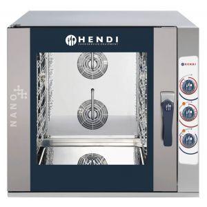 Cuptor combi HENDI NANO, electric, control manual, 7 tavi x GN 1/1, putere 13,8 kW