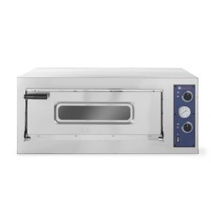 Cuptor pizza profesional Basic 4 Inox 1 camera 4700 W interval temperatura 50°C - 500°C 660x660x(H)140 mm