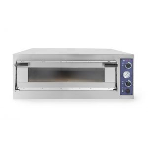 Cuptor profesional pizza Trays 4 Glass 1 camera 6900 W interval de temperatura de la 50°C la 500°C 820x840x(H)175 mm