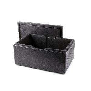 Cutie termoizolanta cu capac pentru transport, 53 lt, ideala pentru transport, spuma polipropilenica, interior 625x425x(H)200mm, exterior 685x485x(H)260 mm, Kitchen Line