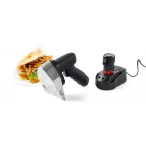 Cutit electric kebab fara fir, 80W, capacitate 60 kg/ora, Kitchen Line, 199x114x(H)184 mm