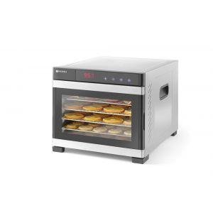 Deshidrator alimente Profi Line, 550 W, 6 tavi, Temperatura reglabila 35-75°C, Gri