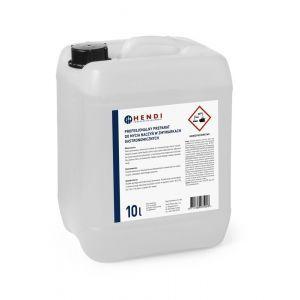 Detergent profesional pentru masina de spalat vase fara clorura de fosfasti potrivit pentru orice duritate a apei, 10 L, Hendi