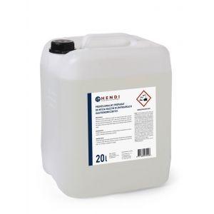 Detergent profesional pentru masina de spalat vase fara clorura de fosfasti potrivit pentru orice duritate a apei, 20 L, Hendi