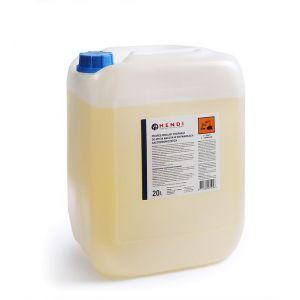 Detergent profesional pentru spalare veselei de aluminiu pentru masiniile de spalat vase, 20 L, Hendi