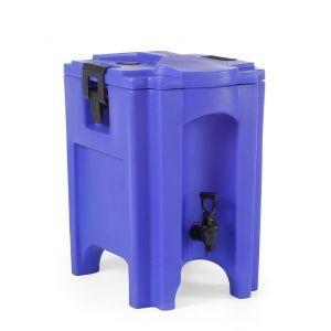 Dispenser bauturi 20 l, pereti dubli din polietilena, cu robinet, manere transport