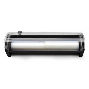 Dispozitiv role pungi pentru mașina vacuum Kitchen Line, dimensiune max 100x400mm, Negru