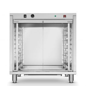 Dospitor profesional Inox 2 incalzitoare 2,4 kW 12 tavi x 600x400 mm 30°C la 60°C