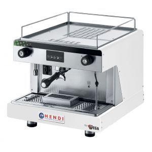 Espressor profesional Top Line BY WEGA 2900 W Alb 530x555x(H)515 mm control electronic programarea a pana la 4 cafele pe grup