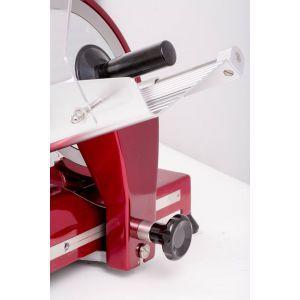 Feliator Hendi Profi Line 220, Rosu, 320 W, 485x420x(H)395 mm, Inox, grosime de taiere reglabila de la 0 la 12 mm