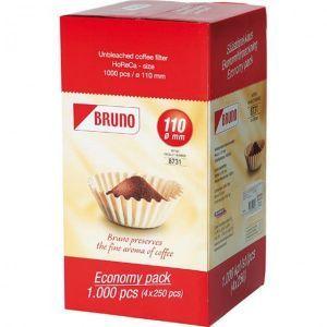 Filtre pentru cafea 25 cm - cutie 1000 bucati