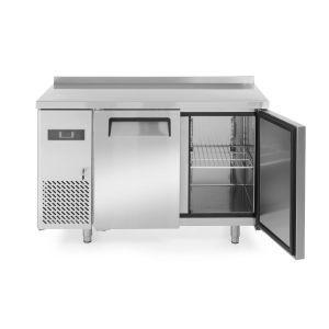 Frigider profesional ARKTIC by Kitchen Line cu 2 usi 220 L 1200x600x(H)850 mm Inox -2/8°C 300 W 2 rafturi 390x428mm incluse