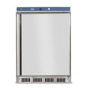 Frigider profesional Budget Line cu 1 usa 350 L 600x585x(H)1850 mm otel inoxidabil 2/8°C 130 W 4 rafturi cu dimensiuni 3x 500x415, 1x 500x211 mm