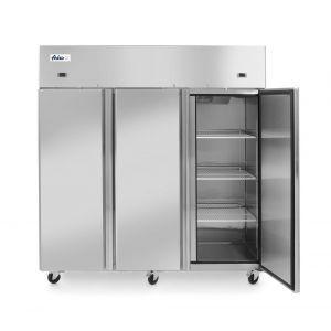 Frigider si congelator profesional Profi Line cu 3 usi 900+420 L 1800x745x(H)1950 mm otel inoxidabil -2/+8°C, -17˚/-22˚C 700 W 3 rafturi 525x530 mm incluse